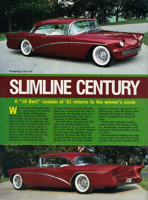 magazine buick 1956 kustom buickcentury paulharper rodcustomjune1990 gilclifford loresharp