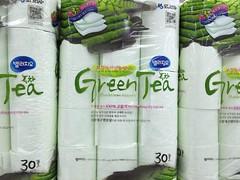 Groene thee WC-papier!