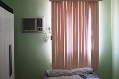 Room 3 (subliner) Tags: lighting travel sun window colors ventana la bed room air havana cuba cream enrique cama habitacin habana conditioned escandell