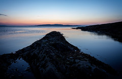 slack water (D Cation) Tags: sunset scotland lowtide gloaming ayrshire portencross firthofclyde slackwater