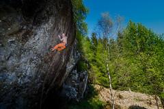 DSC_6238-2 (Fras333) Tags: rock climb countryside perthshire climbing rockclimbing strathyre schist sportclimb