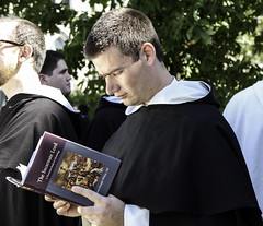 Dominicans and Books II (Lawrence OP) Tags: reading book dominican study friar