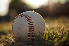 R is for Rim Light (cindypalas) Tags: baseball lensflare rimlight