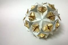 Fireflies (Charul's Origami) Tags: origami paperfolding modularorigami 30units meenakshimukerji rectangles12