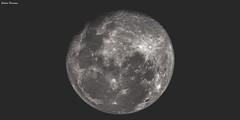 Luna (GaboUruguay) Tags: sky moon night monocromo natural satellite luna crater satelite monocrome moone