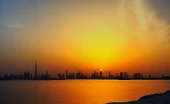 #sunset #dubai #cityscape #burjkhalifa #goldenhour #photograhy #outdoor #sun #golden #landscape #iphonegraphy (shafeeqbasheer) Tags: sunset sun landscape golden dubai cityscape outdoor goldenhour photograhy iphonegraphy burjkhalifa