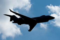 ZJ694 Royal Air Force Bombardier BD-700-1A10 Sentinel R1 (v1images) Tags: show england jason photography force aviation air united royal kingdom airshow worldwide lincoln r1 700 bd raf sentinel waddington bombardier nicholls bd7001a10 1a10 zj694 v1images