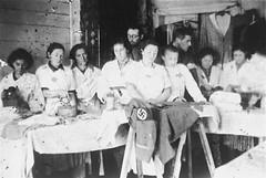 Jewish women ironing Nazi military uniforms while imprisoned at the Glubokoye ghetto. (1941 - 1942) [800  538] #HistoryPorn #history #retro http://ift.tt/1TyYy6o (Histolines) Tags: history women military nazi retro timeline jewish while uniforms 1942 800 ghetto 1941 ironing 538 imprisoned  vinatage historyporn histolines glubokoye httpifttt1tyyy6o
