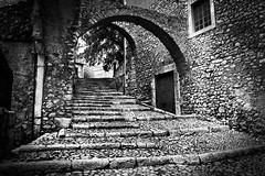 old steps (savolio70) Tags: bw castle scale stairs monocromo steps latina castello bianconero biancoenero sermoneta scalini savolio stefanoavolio