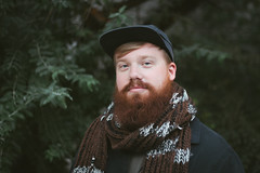 Denis (Brock Jenken) Tags: portrait man fall scarf beard ginger montreal mcgill