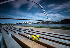 _DSC9768 (adam_reynolds) Tags: bridge sunset water river infinity stockton tees