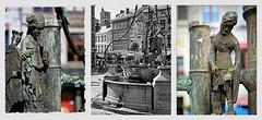Li Bassinia, Huy, Province de Lige, Belgium (claude lina) Tags: sculpture statue belgium belgique fontaine huy ville provincedelige claudelina libassinia grandplacedehuy