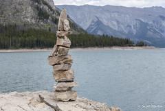 IMG_9210 (Scott Martin Calgary) Tags: ca canada mountains alberta lakeminnewanka balancedrocks improvementdistrictno9