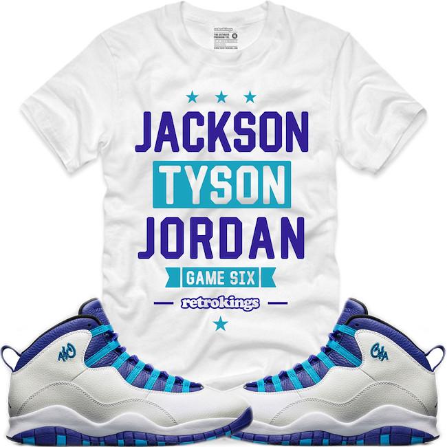 4182283a9ba2 ... sneaker match hornet matching. jordan 10 charlotte shirt to match ( XGEAR101) Tags  shirt clothing charlotte air jordan