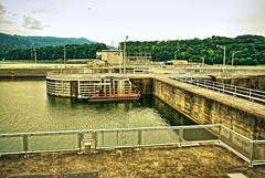 Nickajack Dam, Tennessee (BDM17) Tags: water river lock dam tennessee nickajack