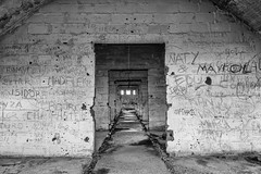 Abandoned (Pablo.Barros) Tags: chile santiago blackandwhite blancoynegro urbanexploration pretoebranco urbex cajondelmaipo