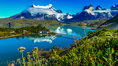 The Horns (The Happy Traveller) Tags: patagonia chile torresdelpaine southamerica lagopehoe thehorns