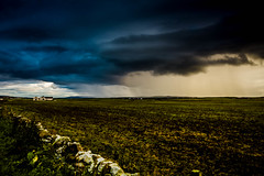 And then it turned nasty.... (dmunro100) Tags: summer storm black rain canon dark eos evening scotland orkney dusk foreboding thunder downpour catsanddogs torrential canonefs1755mmf28isusm 60d merkisterhotel