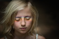 Rainbow...The colors of love (privizzinis passion photography) Tags: portrait people colors girl childhood children outside outdoors child rainbows