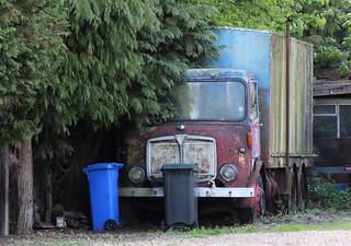 AEC box lorry