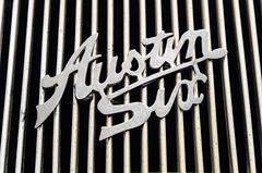 Austin Six (GmanViz) Tags: color detail car 1936 austin logo nikon automobile badge type grille 20 script mayfair gmanviz d7000