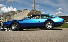 1973 Lamborghini Jarama S (FurLined) Tags: blue s lamborghini 1973 brooklands jarama 2016 autoitalia