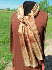 Etsy007 (1) (theresaknits) Tags: silk printing scarves dyeing eco