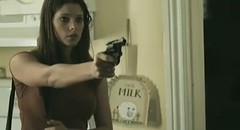 ASHLEY GREENE has a GUN (A Gun & A Girl.) Tags: girls muscles blood arms guns hotgirls sexygirls girlswithguns shootingguns gettingshot gunshotwounds hotguns girlsshootingguns girlsgettingshotwithaguns