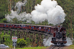 Puffing Billy Steam Train (AlfredSin) Tags: alfredsin steamtrains puffingbilly puffingbillysteamtrains belgrave canoneos760d canonef1740mml canonef70200mmf4lis mtdandenong touristtrains