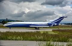 M-STAR Starling Aviation Boeing 727-200 Leaving Geneva. (Austyn Pratt) Tags: plane airplane geneva aircraft aviation flight aeroplane boeing 727 bizjet privatejet 727200 mstar corporatejet starlingaviation ebace