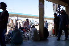 bus station (jzielcke) Tags: world voyage road travel pakistan de la reisen highway asia tour south silk du route karakoram kkh monde soie reise welt karakorum  seidenstrasse    seidenstrase  silkenstrasse silkenstrase