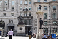 DSC_7072 City of London Royal Exchange James Henry Greathead 1844 - 1896 Statue (photographer695) Tags: city london james henry greathead 1844 1896 statue royal exchange