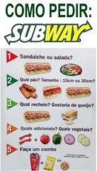 SUBWAY (Rosas ao VIVO) Tags: parque food subway fast da das rosas barra tijuca sanduiche