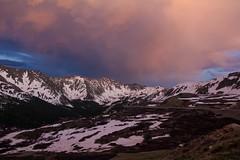 Cotton Candy over A-Basin (BrengelPhoto) Tags: mountain landscape twilight colorado co abasin