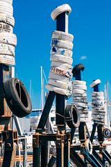 Bellissimo (toletoletole (www.levold.de/photosphere)) Tags: blue sky italy fuji himmel blau shipyard puglia dockyard monopoli werft apulien xpro2 fujixpro2