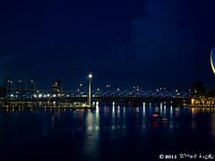 night_3 (Squall EC) Tags: river hotel bay flyer singapore esplanade mbs marinabay raffleshotel singaporeflyer marinabaysands