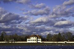Munic Castle (istvan-ladanyi.de) Tags: munic castle bavaria germany sky clouds landscape wideangle