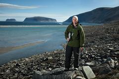 (justinbastien) Tags: ocean portrait canada male outdoors arctic iceberg scientist baffinisland canadianmuseumofnature kieranshepherd