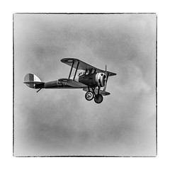 1790SEa Memories of ...... (foxxyg2) Tags: york bw monochrome mono blackwhite models ww1 aeroplanes elvington biplanes 2013 niksoftware silverefex