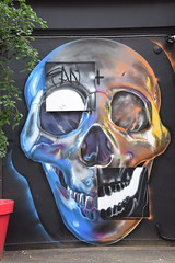 DSC_6240 Shoreditch London Skull Street Art Mothers Bar (photographer695) Tags: shoreditch london street art mothers bar