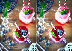 Psyllium Coctail with Berry Compote (AlenaKogotkova) Tags: food breakfast healthy berry berries drink drinks smoothie coctail foodphoto healthyeating compote psyllium foodstyling
