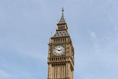 Clock Tower (Josiedurney) Tags: city uk travel blue summer sky london tower art clock westminster big perfect time bell ben bigben clocktower southbank adventure clear elizabethtower