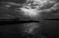 Pier, Kerry Ireland (aaronflynndolan) Tags: ireland light blackandwhite sun holiday water fun nikon roadtrip kerry hdr