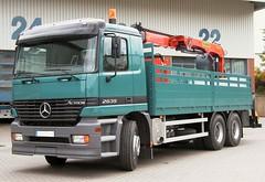 MB Actros 2635 (Vehicle Tim) Tags: truck mercedes kran mb fahrzeug lkw pritsche actros