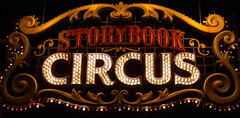 Storybook Circus (solostinlostvideos) Tags: world new circus magic kingdom disney wdw walt storybook mk fantasyland disneyphoto disneygram