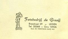 Leiden (Steenvoorde Leen - 2.5 ml views) Tags: leiden verloving 1965 margriet weekblad breestraat fotobedrijf verlovingsportret fotobedrijfdegraaf
