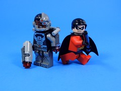 Titans? (MrKjito) Tags: up robin comics dc team comic lego super teen hero minifig cyborg titatns