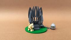 Tablescrap of Thrones (-Wat-) Tags: puppy gameofthrones tablescrap comiccongermany