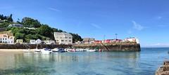 The Shore of Jersey (jonminshull) Tags: uk sea beach harbour jersey channelislands