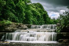 Aysgarth Falls (lee adcock) Tags: fall water landscape waterfall yorkshire yorkshiredales aysgarthfalls nikon1685 nikond5300